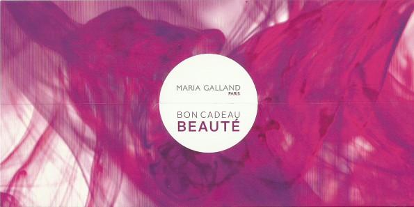 bon cadeau Marie Galland